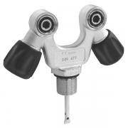 Вентиль M25x2 230bar 2 выхода DIN-INT V-образный COLTRI