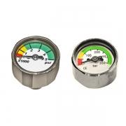 Указатель давления (мини манометр) в порт высокого давления регулятора Akvilon