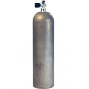 Алюминиевый баллон для дайвинга Luxfer Dirty Beast 11.1 литра (80 cuft) 207 BAR с вентилем