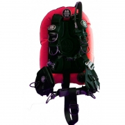 Компенсатор плавучести OMS Comfort Harness - III 32LB SS/AL RED