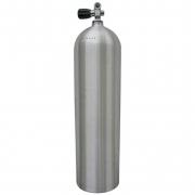 Алюминиевый баллон CATALINA (USA) 11.1 литра (80 cuft) 207 BAR с вентилем