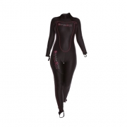 Гидрокостюм лайкра 1мм SHARKSKIN Chillproof Rear Zip Suit женский